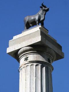 Simbolo de la ciudad de Teruel. El Torico