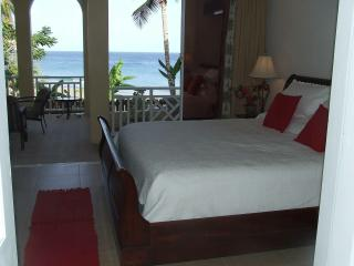 MASTER BEDROOM, with king size bed, ensuite bathroom