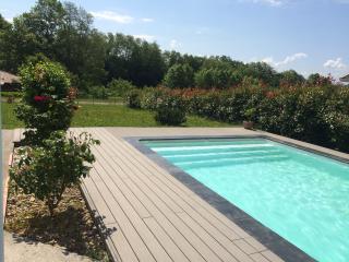 Maison Moderne Sud Landes confort calme et piscine