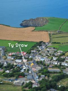 Trefine holiday cottage on the Pembrokeshire Coast Path
