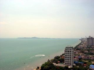 Stanning sea view studio condo (Metro F35 R500), Pattaya