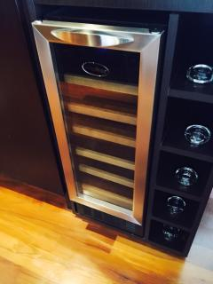 Wine cooler for your Malbec
