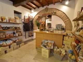 The shop ' la bottega di Montefienali' in side