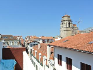 1 BEDROOM APT TOWNCNTR 150M TO BEACH LARGE TERRACE, St-Jean-de-Luz