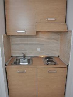 Small kitchen.This small kitchen is located on the ground floor