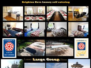4 Star Gold 9 Bed House Brighton East Sussex UK, Hove