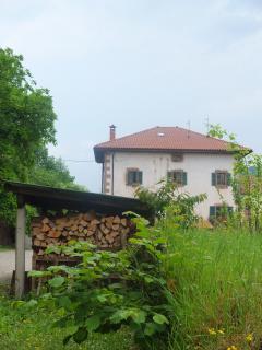Bértizbasoan es una casa tiípica de piedra de la comarca de Bertizarana