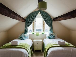 Attic twin bedded room