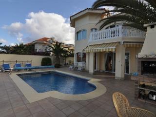 Villa first line ocean in Los Cristianos, Arona