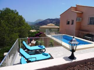 Casa Sofia Luxury Vacation Villa near Pego with Private Pool & Spectacular Views