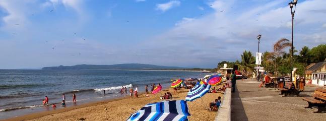 La Penita Beach is a quiet beach with a new Malecon