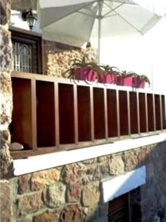 elevated patio fence