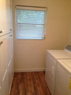 Pantry/Laundry Room with Full Size Washer and Dryer