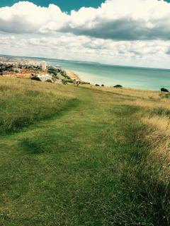 South Downs National Park (15 min. walk from home)