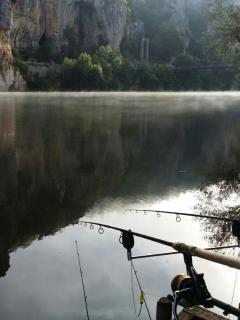 fishing on carp on our lake or in the Lot