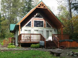 The Alpine Chalet has Hot Tub, Wifi, Firepit, BBQ, Packwood