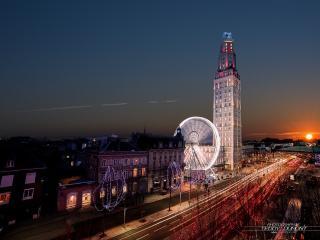 Extraordinaire. Panorama Centre Ville 16 eme étage, Amiens