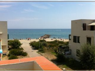 Face à la plage, Belle vue mer, Le Barcarès, Le Barcares