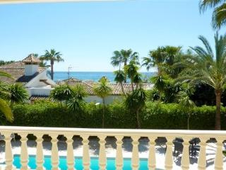Beachside Villa with private pool, 9 pax, Marbella