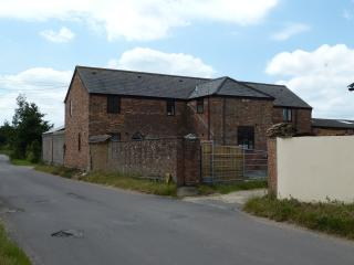 View of Bramble Farm Cottages entrance from Church Lane