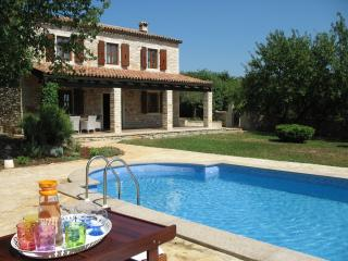 Stone villa with pool  tranquil location in Istria