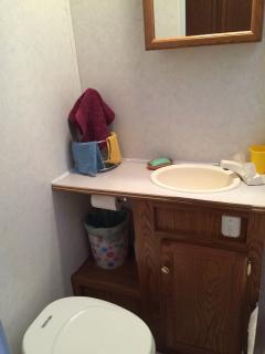3 piece bathroom.