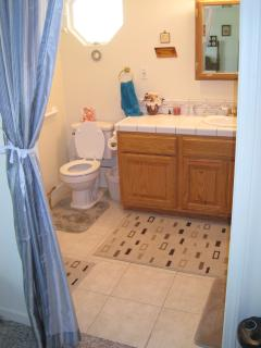 Master Bath, Wheelchair accessible.