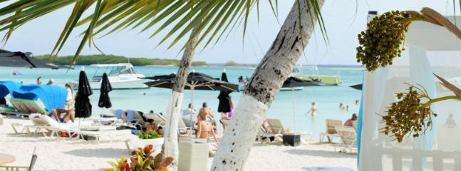 NEARBY:  Reflextions Beach Bar and Restaurant.  5-10 min.