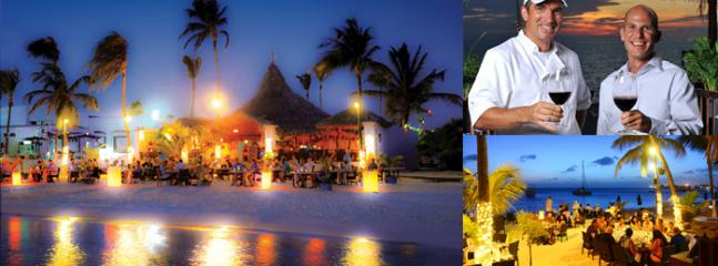 NEARBY:  Barefoot Restaurant.  Sunset Beach.  3-5 min.