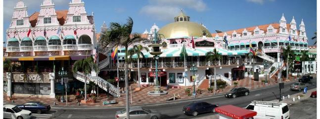 NEARBY:  Royal Plaza Shopping Mall.  Downtown Oranjestad.  Luxury goods.  10-15 min.