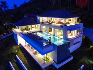 Villa White Tiger: 16m Infinity Swimming Pool, Ko Samui
