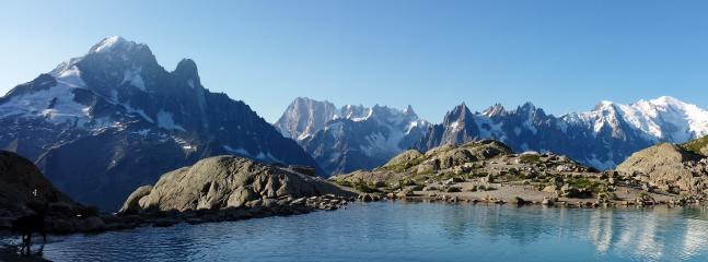 Le lac blanc, 3h30 de marche à partir du chalet
