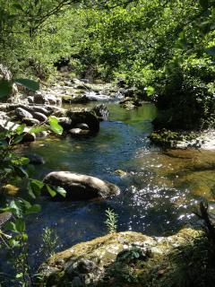 La rivière est à proximité.  En saison estivale, aller y vous rafraichir