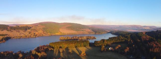 LOCH MOY JUST AT BACK OF HOUSE