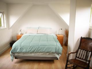Master Bedroom with Queen Sized Bed with Balcony and adjoining room with single bed.  Perfect for yo