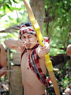 One of our favorite activites 'Balinese Traditional Archery'