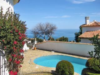 Casa vista al mar con piscina privada, barbacoa, Benajarafe