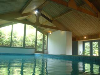 Private swimming pool all year round