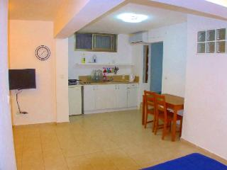 Studio with garden 5 min walking from beach, Bat Yam