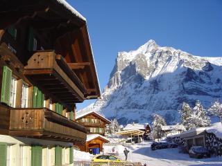 Wetterhorn im Winter