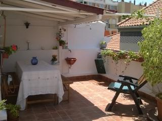 Penthouse, private terrace in Malaga Old Town, Málaga