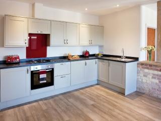 Newly fitted 'shaker' style kitchen