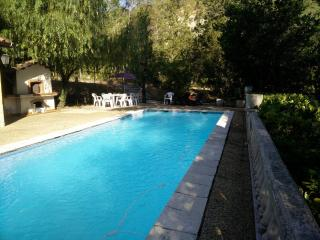 Rustic flat with pool and garden, Berre-les-Alpes