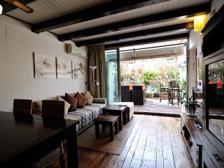 salón comedor y terraza de 20 m2