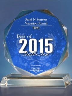 Best of Galveston Travel Award 2015