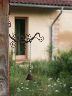 une des décorations du jardin