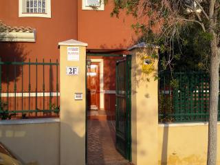 Gated Private Entrance to Villa Bonalba