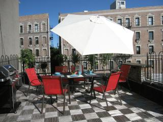 2-6 GUEST NEW YORK HOUSE + TERRACE WEST HARLEM NY, Nueva York