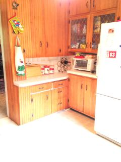 Country kitchen, more counter space.