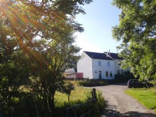 Erbusaig House, the end terrace house in a quite village.